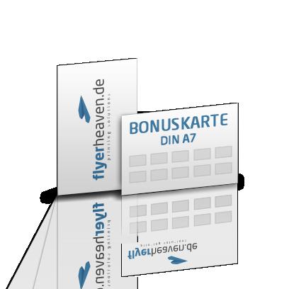Bonuskarte Din A7 Drucken Lassen Flyerheaven De