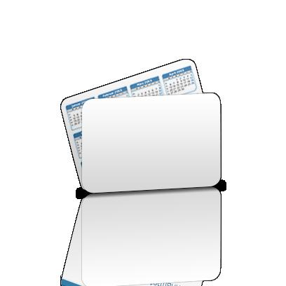 Plastikkarten Mit Kalender Drucken Flyerheaven De