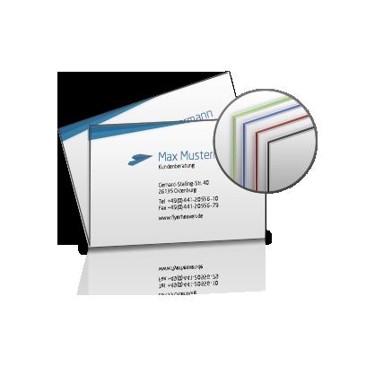 Premium Visitenkarte Drucken Lassen Flyerheaven De