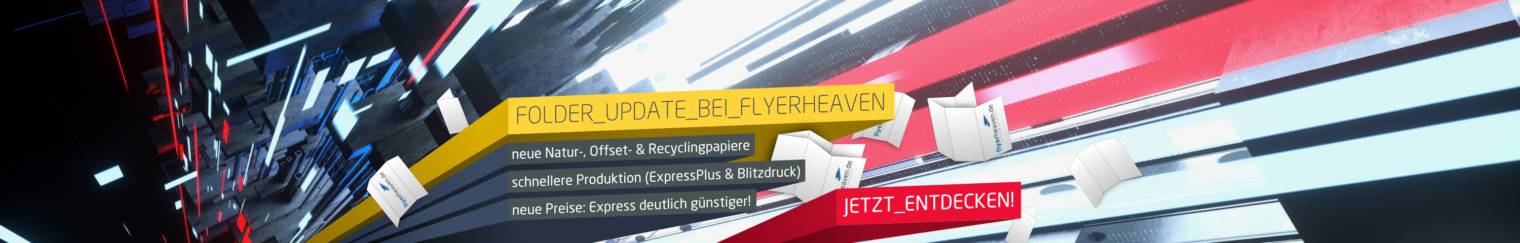 Folder-Update bei Flyerheaven