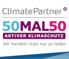 climate partner 50x50